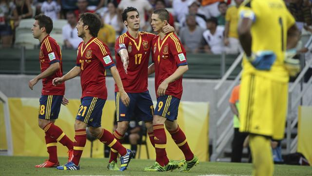 Confederations Cup - Torres on target as Spain end Nigeria hopes