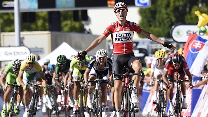 Tour de France - Gallopin defies peloton with stage 11 win, Nibali avoids trouble