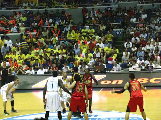 The opening tip