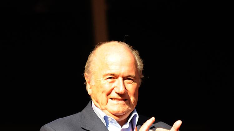 Sepp Blatter announced a USD 500,000 grant for St George's Park