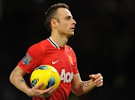 "Dimitar Berbatov, pictured in 2011, has said it would be ""better for everyone"" if he left Manchester United even though he wants to stay at the English Premier League giants"