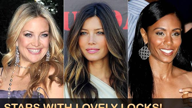 titlecard omg Celebs With Great Hair