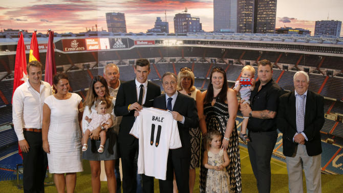 Soccer - Real Madrid - Gareth Bale Signing - Spain