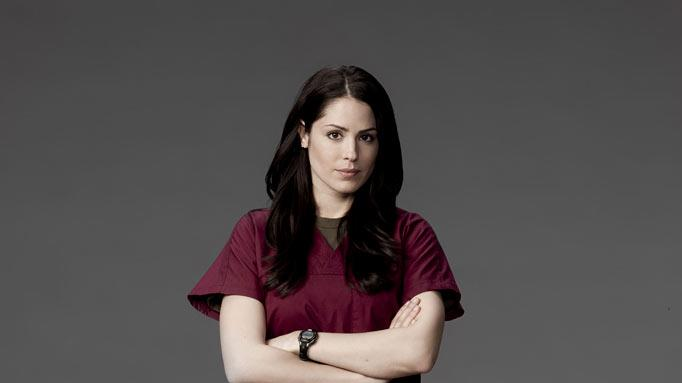 "Michelle Borth stars as Dr. Rebecca Gordon in ""Combat Hospital."""