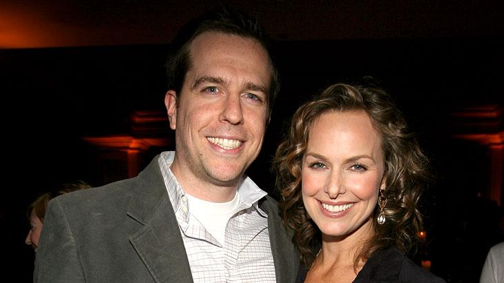 Ed Helms and Melora Hardin at NBC's Winter 2007 TCA Press Tour All-Star Party