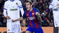 Barca are a point adrift of Real and the defender is not giving up hope, despite playing two games more than their Liga rivals