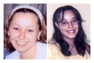 FBI file photos of Amanda Berry (L) and Georgina DeJesus, both of whom went missing as teenagers about a decade ago and were found alive May 6, 2013 in a residential area of Cleveland, Ohio, not far from where they were last seen. A third woman, Michelle Knight, was also found in the same house. Three men have been arrested in the case