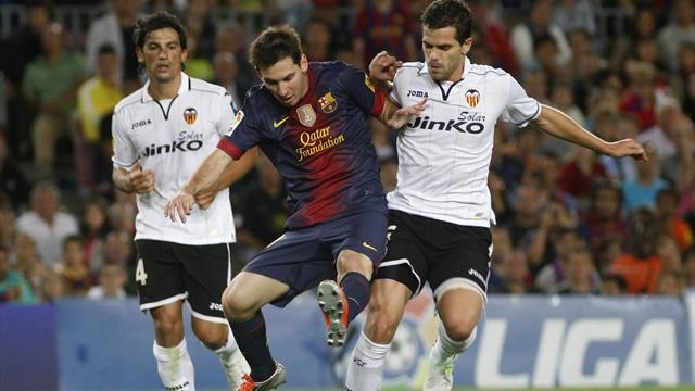 Gago return to training lifts misfiring Valencia