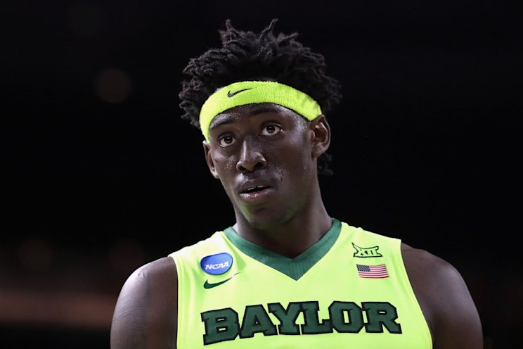 Johnathan Motley has helped Baylor rise from unranked in the preseason to No. 4 today. (Getty Images)