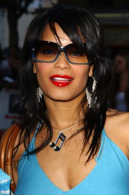 Blu Cantrell at the Los Angeles premiere of 20th Century Fox's Dodgeball: A True Underdog Story