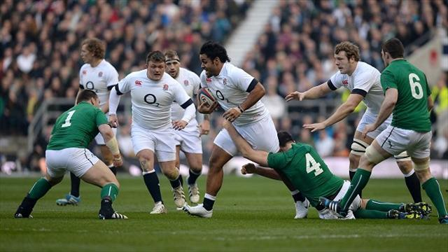 Six Nations - England's Vunipola heads for scan on ankle
