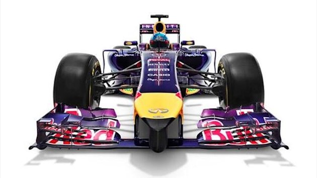 Red Bull has launched the car with which it hopes to secure a fifth consecutive Formula 1 championship double, the RB10 (twitter: @redbullracing)