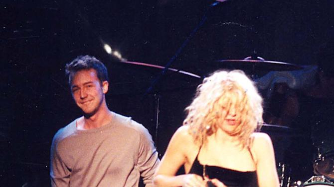 Ed Norton, Courtney Love