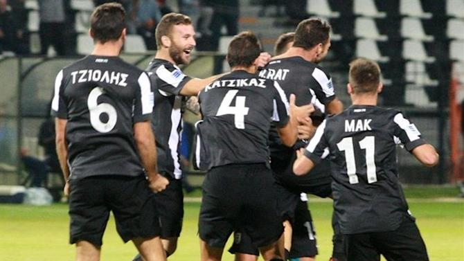 European Football - PAOK lose ground in battle for second in Greece