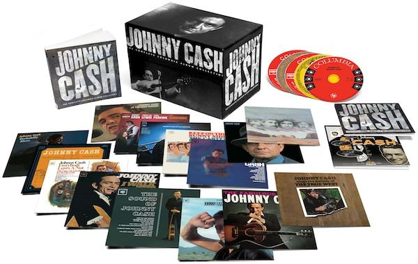 Win the Johnny Cash Complete Columbia Album Collection Box Set