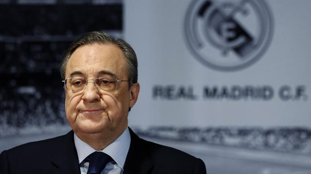 Liga - Perez denies Madrid role in Neymar controversy