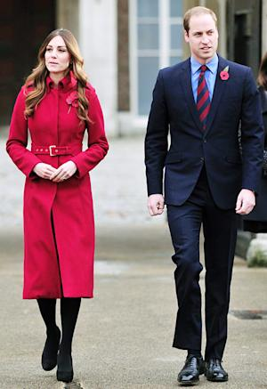 Kate Middleton Slimmer Than Ever at London Poppy Day Event With Prince William: Pictures
