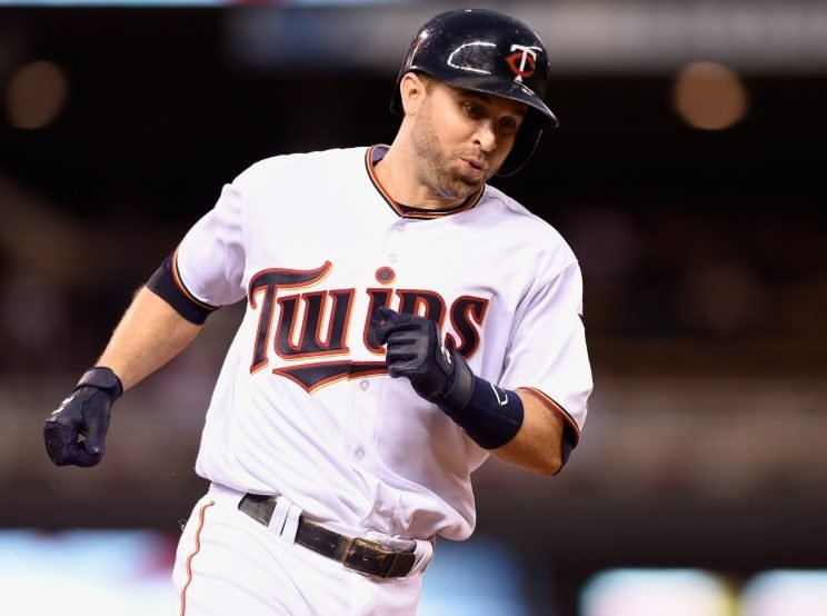 Power-hitting second baseman Brian Dozier would be a perfect fit for the Dodgers. (Getty Images)
