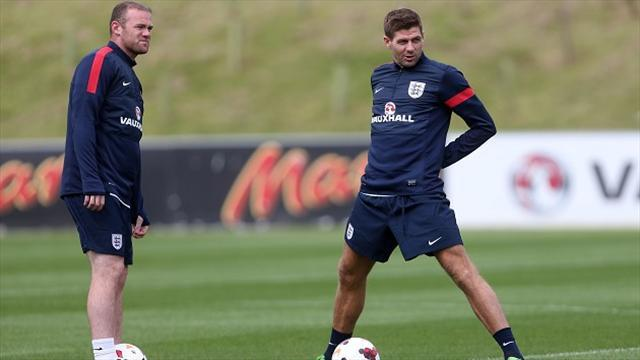 World Cup - Gerrard backs Rooney to shine