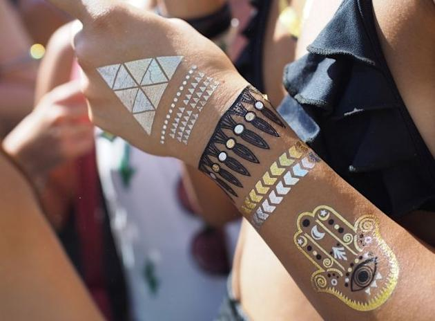 How to recreate body art, Coachella-style