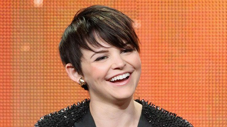 "Ginnifer Goodwin of the television show ""Once Upon A Time"" speaks during the Disney ABC Television Group portion of the 2011 Summer Television Critics Association Press Tour held at The Beverly Hilton Hotel on August 7, 2011 in Beverly Hills, California."