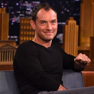 "Jude Law Visits ""The Tonight Show Starring Jimmy Fallon"""
