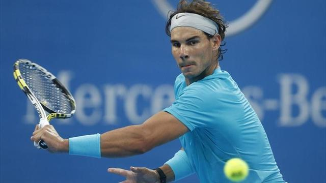 Tennis - Nadal sets up Fognini clash in China