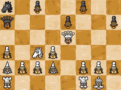 Schach Flash Game