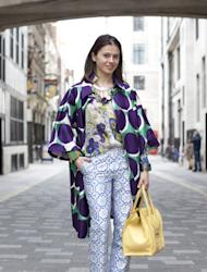 We Style Hunted Anna this week, who is by no means afraid making a fashion statement