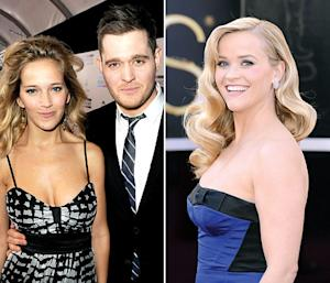 """Michael Buble Told Reese Witherspoon About Baby-to-Be """"Before Anyone Else in the World Knew"""""""