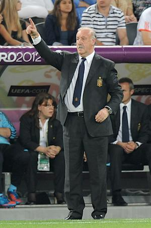 Vicente del Bosque was delighted with how Spain restricted the French to just one shot on target
