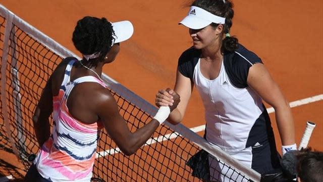 Tennis - Laura Robson thrashes Venus Williams in Rome
