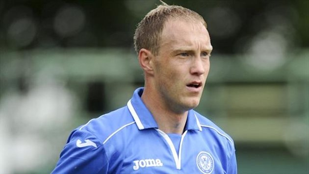 Steven Anderson will return for St Johnstone's festive programme