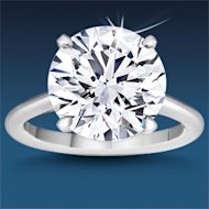 Costco's new $1 million diamond ring. Courtesy of Costco.