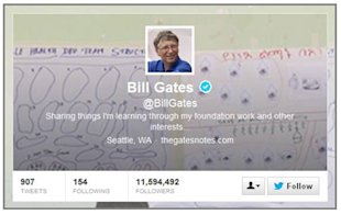 How The Fourth Richest Person On The Planet Goofed At Twitter image Bill Gates Twitter 06 13