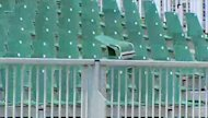 About 20 seats at Regina's Mosaic Stadium were not welded down properly, causing them to break off during Friday's pre-season game.