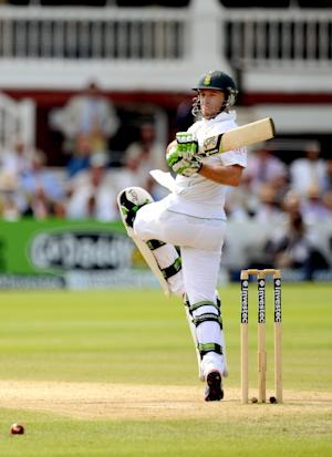 AB De Villiers struck a century to put South Africa in control