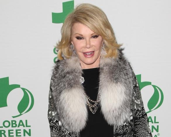 Joan Rivers In A Medically Induced Coma After She Stopped Breathing During Throat Surgery