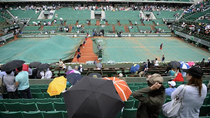 French Open - Order of play on Thursday
