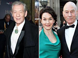 Ian McKellen to Officiate Patrick Stewart's Wedding to Girlfriend Sunny Ozell