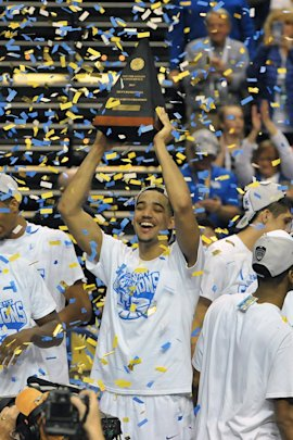 Kentucky is the heavy favorite to win a crown much sweeter than its SEC Championship trophy. (USA TODAY Sports)