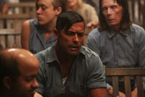 Mark Consuelos Transforms from Soap Stud to 'Asylum' Inmate
