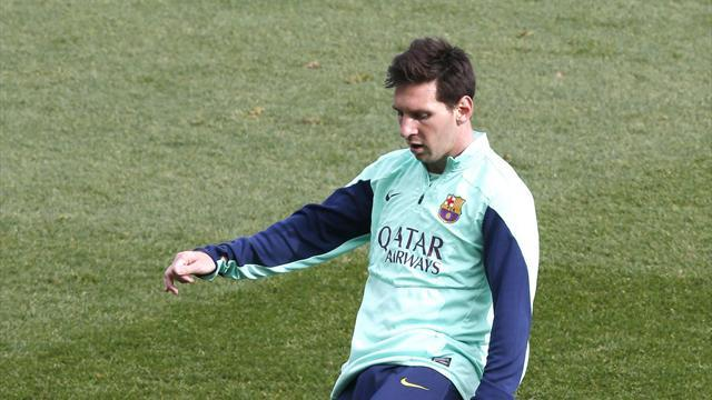 Liga - Messi showing lethal touch but not ready for Elche