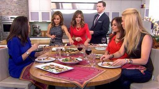 Giada Cooks up a Delicious Ladies' Night Dinner
