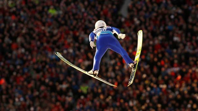 Ski Jumping - Ito's record leap seals Trondheim win