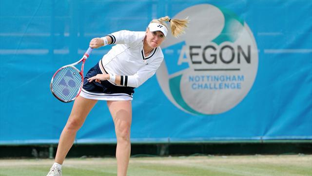 Tennis - Dominant Baltacha reaches Nottingham last eight