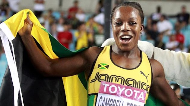 Jamaica's world champion sprinter Veronica Campbell-Brown (Reuters)