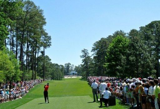The  Augusta National Golf Club is known for its towering pines and flowering azaleas