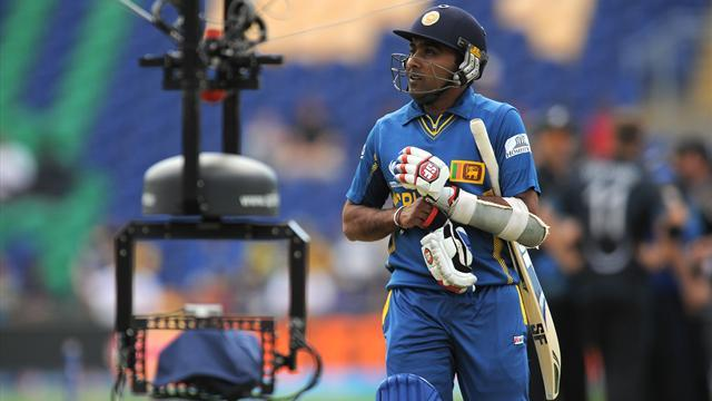 Cricket - Sri Lanka collapse to 138 all out against New Zealand