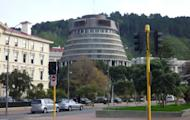 The New Zealand Parliament in Wellington. New Zealand lawmakers will hold a vote on allowing gay marriage after a proposal to change the law was listed on parliament's agenda Thursday